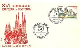 POSTMARKET ESPAÑA    1973 GAUDI