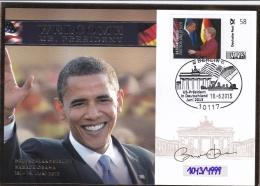 Germany FDC 2013 President Obama Visiting Germany (T17-4)