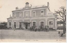 27 - BERNAY - La Gare - Bernay