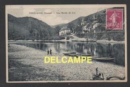 DF / 15 CANTAL / VIEILLEVIE / VUE GENERALE SUR LES BORDS DU LOT / CIRCULÉE EN 1935 - Other Municipalities