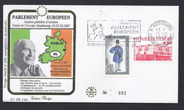 SESSION 14.10. 87 DOCTEUR HILLERY DUBLIN IRELANDE EDITION PRESTIGE CONSEIL EUROPE TIRAGE LIMITE 900 Ex - Lettres & Documents