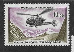 Timbre ** FRANCE - N° 41 ~ Poste Aérienne ~ Emis De 1960 à 1964  Timbre Neuf Et Sans Trace De Charnière