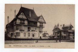 Cpa N° 215 DEAUVILLE Villas Les Abeilles Et Camélia - Deauville