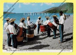 CPSM ARUBA ONE OF THE ARUBA´S FAMOUS STEELBANDS NETHERLANDS ANTILLES ( ORCHESTRE ) - Antilles Neérlandaises