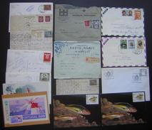 Portugal Lot De 15 Cartes  Lettres Et Divers, Voir Photos ! - Postmark Collection