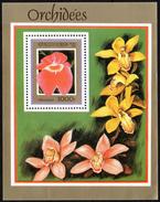 FLOWERS - BENIN 1999 - FLOWERS: ORCHIDS - MUSTER - SPECIMEN