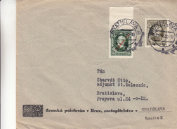 Slovaquie - Lettre De 1939 ° - Oblit Bratislava - Exp Vers Bratislava - Covers & Documents