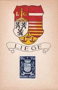Carte Maximum - Blason Liège + Timbre - Maximum Cards