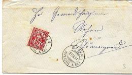 I9 - Enveloppe Avec Superbes Cachets à Date De Stein Appenzell A. RH 1901