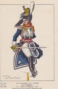 Uniformes Du 1er Empire  Les Cuirassiers Colonel Du 6eme Régiment 1813 ( Carte Tirée à 400 Ex ) - Uniformen