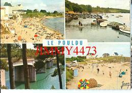 CPM Dentelées - Multi Vues En 1969 - LE POULDU 29 Finistère  - Edit. Jean Audierne N° 22 716 - Scans Recto-Verso - Le Pouldu