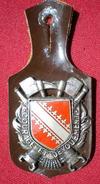INSIGNE POMPIERS (pucelle)     SAPEURS POMPIERS Département Du Bas Rhin(67) - Pompieri