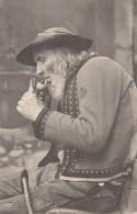 CPA - Plomodiern - Fumeur De Plomodiern - Plomodiern