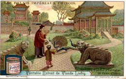 Chromos   LIEBIG LES PALAIS IMPERIAUX CHINOIS PAVILLON D HABITATION DU PALAIS D HIVER - Liebig