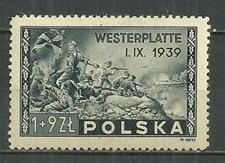 POLAND MNH ** 454 Anniversaire De La Bataille De Westerplatte, Armée
