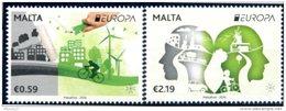 """Europa 2016 """"Think Green"""" - Malte Malta ** - Europa-CEPT"""
