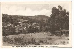 63 Ternant Commune D'Orcines . Vue Panoramique - France