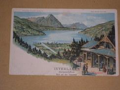 Cpa 1900 Suisse - Interlaken - Heimwehfluh - Blick Auf Den Thunersee - Litho Couleurs Type Gruss - BE Berne