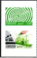 "Europa 2016 ""Think Green"" - Féroés Foroyar ** De Carnet Aus Heftchen From Booklet - Europa-CEPT"