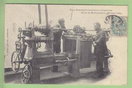 ARMENTIERES : Ecole Nationale Professionnelle, Atelier Des Machines Outils, Machine Aléser. TBE. 2 Scans. Ed Bulteau - Armentieres
