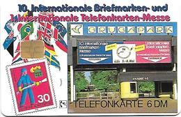 O 519 10. Internationale Briefmarken- Und Telefonkartenmesse Essen - Feuerwehr LKW Krupp LF 16-Ts 1 E-2224. Mint