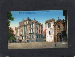 70752   Francia,  Vence,  Place Clemenceau Et  Hotel De Ville,  Portail De La Cathedrale,  NV - Vence