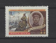 RUSSIE . YT 2279 Neuf ** Hommage Au Général I.D. Tcherniakhovski 1960