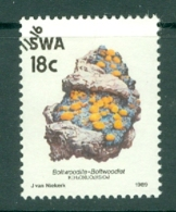 South West Africa: 1989/90   Minerals   SG524   18c       Used - Afrique Du Sud-Ouest (1923-1990)