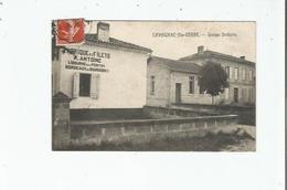 LAVAGNAC -SAINTE TERRE (GIRONDE) GROUPE SCOLAIRE ET FABRIQUE DE FILETS A ANTOINE - France