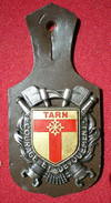 INSIGNE POMPIERS (pucelle)     SAPEURS POMPIERS Département Du Tarn (81) - Pompieri