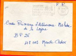 LOZERE, Langogne, Flamme SCOTEM N° 6780, Fête De La Moisson, 3e Dimanche D'aout - Maschinenstempel (Werbestempel)