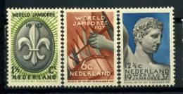 #17-04-05162 - Netherlands - 1937 - Mi. 301-303 - MNH - QUALITY:60% - Culture