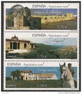 2016-ED. 5086 A 5088 EN BLOQUE- Arquitectura Rural. La Noria, El Cortijo Andaluz Y El Cigarral -NUEVO-