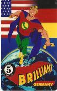 Brilliant: 1. Internationale Telefonkartenmesse 1994 Essen, Deutschland - Vereinigte Staaten