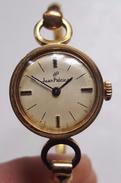 Montre Femme Ancienne Jean Patrice En Or Galvanisé - Vintage - Poinçon - Watches: Old