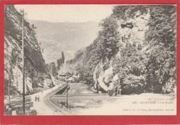 CPA : Allevard Les Bains (38) Les Gorges - Allevard