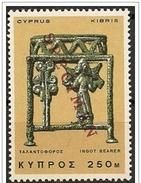 Cipro/Chypre/Cyprus: Specimen, Figura Di Portatore, Support De La Figure, Figure Carrier
