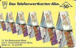 11. Internationale Briefmarken- Und Telefonkarten-Messe 1996, Essen - Oesterreich