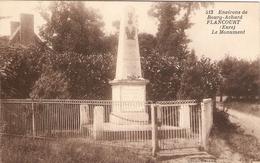 Cpa De L'Eure, Le Monument Aux Morts De Flancourt (Catelon, 27), éd. E. Mellet 513, Coll. Decaux, Dos Vierge - France