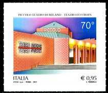 ITALIA / ITALY 2017** - Piccolo Teatro Di Milano - Teatro D'Europa - 1 Val. Autoadesivo Come Da Scansione
