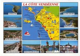 LA COTE VENDÉENNE (NOIRMOUTIER-OLONNE-BREM-BRETIGNOLLES-SAINT GILLES-CROIX DE VIE-FROMENTINE-SAINT JEAN DE MONTS) - Bretignolles Sur Mer