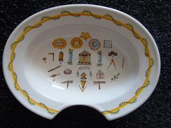 Vrijmetselarij Franc-maçonnerie Scheercoupe  Coupe à Rasage  Symboles Symbolen - Tournai (BEL)