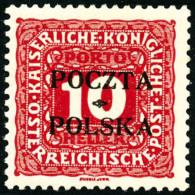 Taxe N°2, 10 H. Rouge, TB - Poland