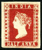 N°2, 1/2 A. Rouge, TB - India (...-1947)