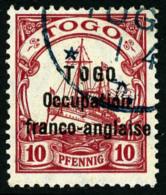 N°45, 10 Pf. Rouge, Oblitéré, TB