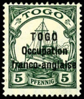 N°44, 5 Pf. Vert, TB