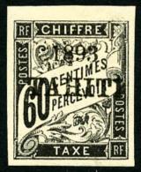 Taxe N°24, 60 C. Noir, TB