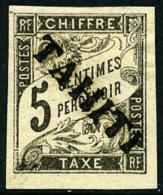 Taxe N°5, 5 C. Noir, Superbe