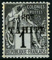N°19, 1 C. Noir Sur Azuré, TB