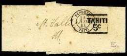 N°4aA, 5 C. Noir, Bande Oblitérée Du 24 Juin 1884, Légères Rousseurs Sinon TB